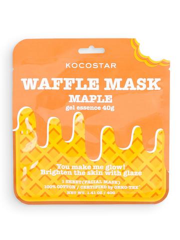 KOCOSTAR | Омолаживающая вафельная маска для лица «Кленовый сироп»