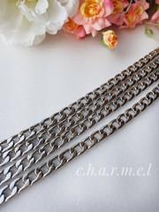 Цепь звено 9*13 мм , длина 120 см, цвет серебро