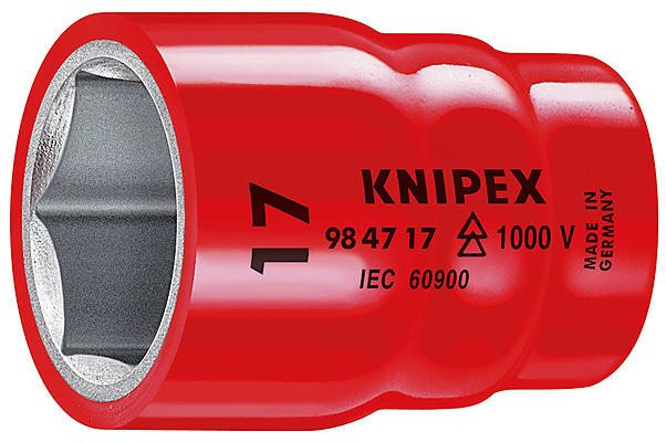 Сменные головки к торцевому ключу для винтов с шестигранной головкой KNIPEX 98 47 27 KN-984727