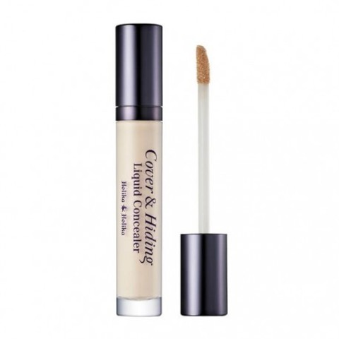 Жидкий консилер с аппликатором Holika Holika Cover Hiding Liquid Concealer
