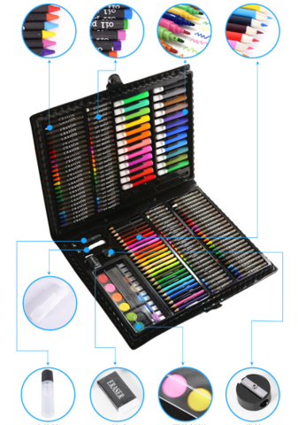 061-9930 Большой набор для рисования (168 предметов)