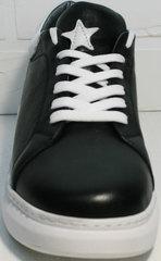 Кеды туфли женские Wollen P337 K71 BW