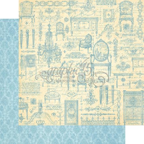 Бумага для скрапбукинга Versailles Graphic45