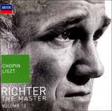 Sviatoslav Richter / Chopin, Liszt - The Master: Volume 10 (RU)(2CD)