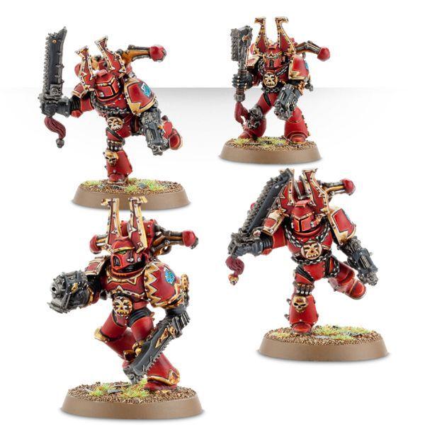 Chaos Space Marines Khorne Berzerkers
