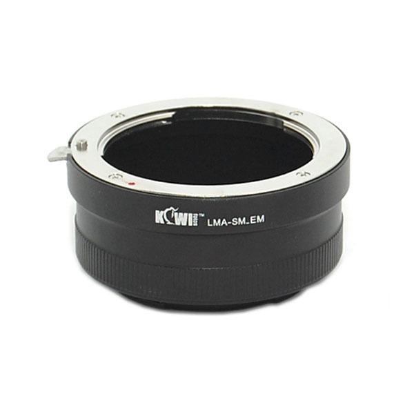 Переходное кольцо Kiwifotos LMA-SM-EM для установки объективов Sony Alpha/Minolta