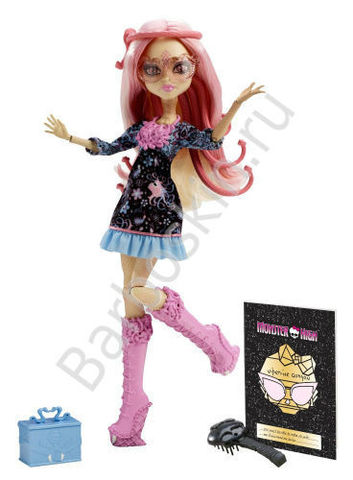 Кукла Monster High Вайперина Горгон (Viperine Gorgon) - Страх! Камера! Мотор!