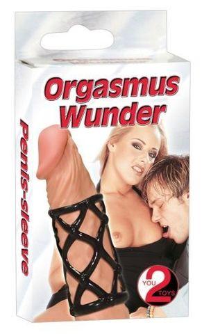 Эластичная открытая насадка на член Orgasmus Wunder (d. 3 см)