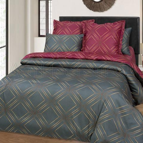 Комплект постельного белья 2 спальный Сатин Анри