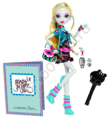 Кукла Monster High Лагуна Блю (Lagoona Blue) - Ночь Монстров