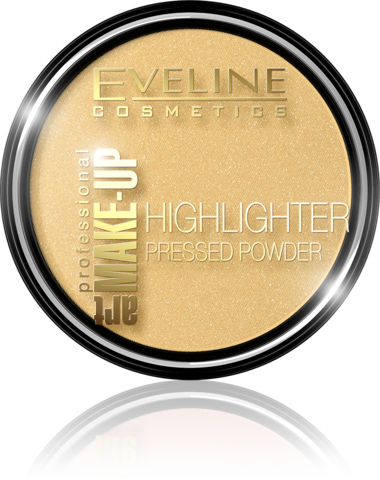 EVELINE ART MAKE-UP PROFESSIONAL HIGHLIGHTER РАССВЕТЛЯЮЩАЯ ПУДРА ДЛЯ ЛИЦА И ТЕЛА № 55