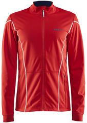 Тёплая лыжная куртка Craft Force XC Red мужская