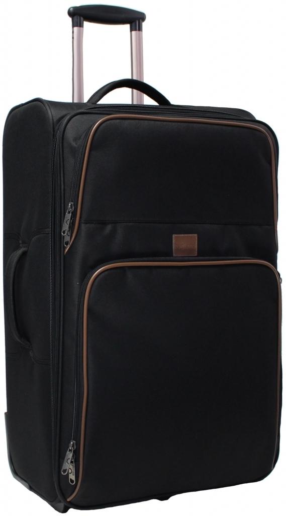 Дорожные чемоданы Чемодан Bagland Леон большой 70 л. Чёрный (003766627) 7de793e05db68a8fc3e880d69b73264b.JPG