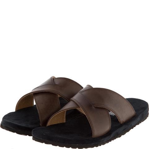 577157 сабо мужские коричневые. КупиРазмер — обувь больших размеров марки Делфино