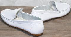 Стильные мокасины женские AESD 902 White