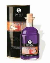Возбуждающее массажное масло с ароматом винограда - 100 мл.