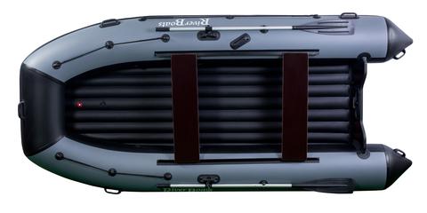 Моторно-гребная лодка RiverBoats RB — 370 (ПВХ, НДНД)