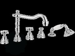 Смеситель на борт ванны с душем Migliore Princeton, ML.PRN-880