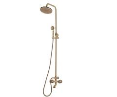 Комплект двухручковый для ванны и душа Bronze de Luxe 10121R