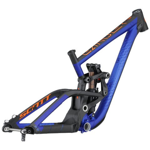 Scott Gambler 710 Frame Set (2016) синий с черным