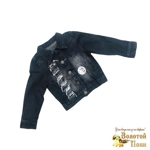 Куртка джинсовая девочке (3-7/8-12) 190918-ТР-S1162/2062
