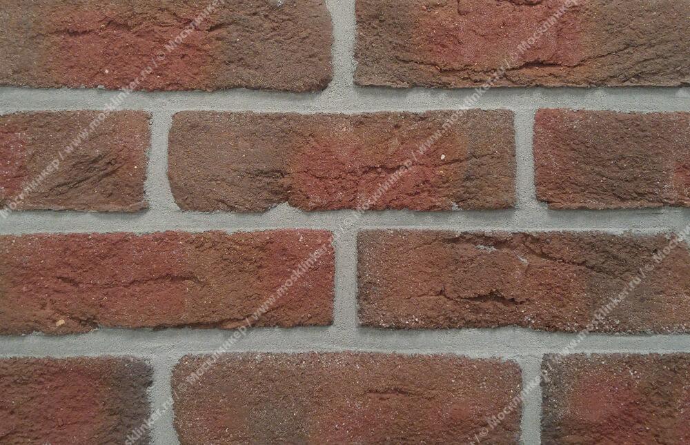Roben, облицовочная клинкерная плитка под старину, Formback, огненнопестрый (buntgeflammt), NF