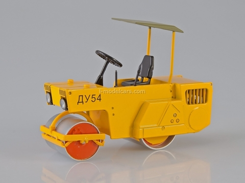 Roller DU-54 Automotive vibrating yellow 1:43 Start Scale Models (SSM)