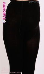 Евромама. Теплые колготки для беременных 230 DEN, ЕМЭ 230 черн размер 3