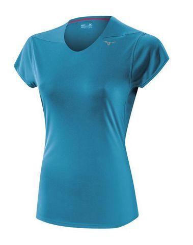 Беговая футболка Mizuno DryLite Core Tee женская