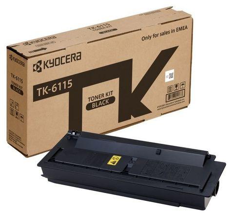 Тонер-картридж Kyocera TK-6115 для Kyocera M4125idn, M4132idn. Ресурс 15 000 стр.