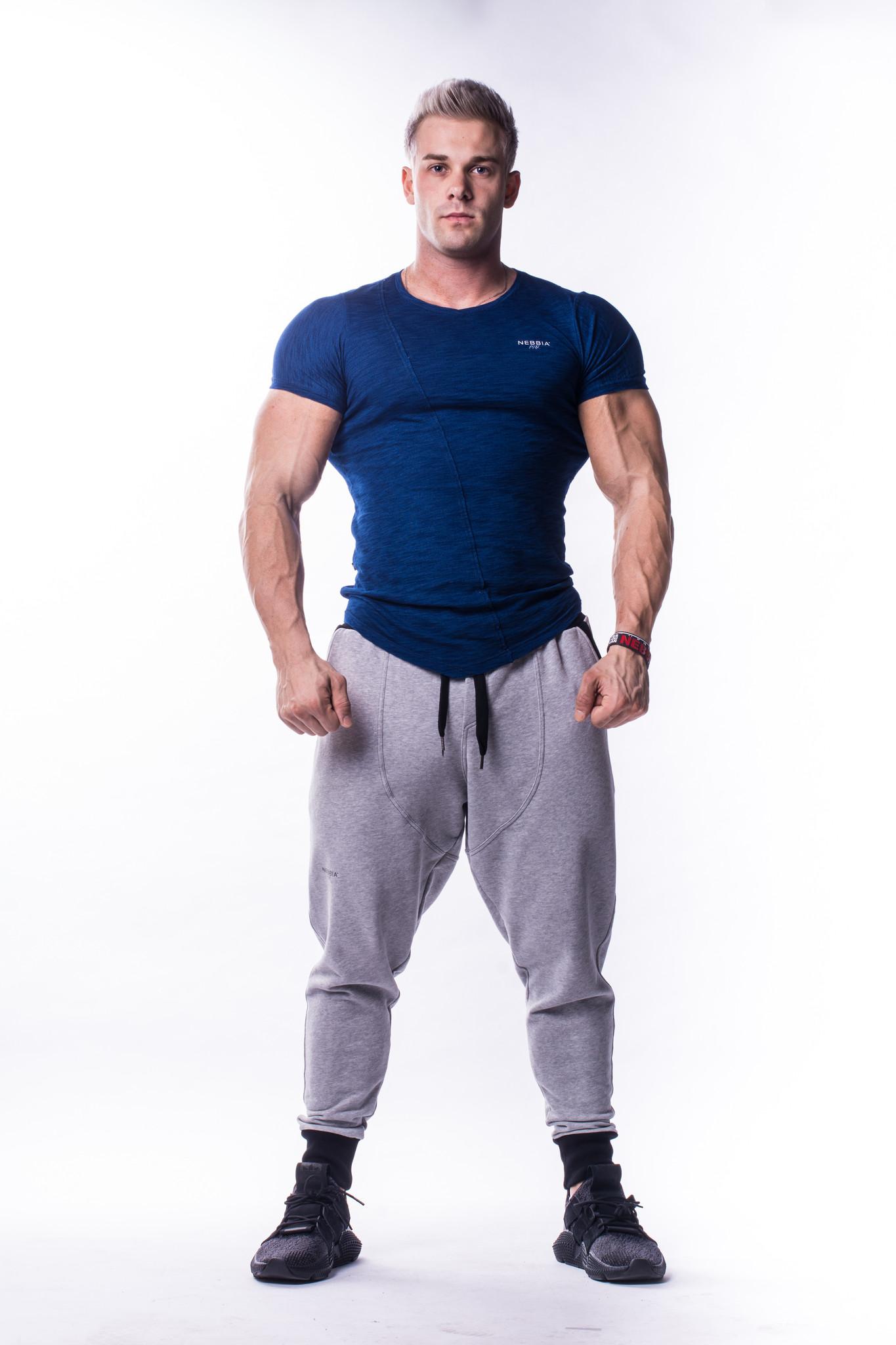 Мужская футболка NB AW Atypical 722 jeans blue