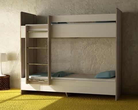 Кровать двухъярусная ДАЙСЕН  левая