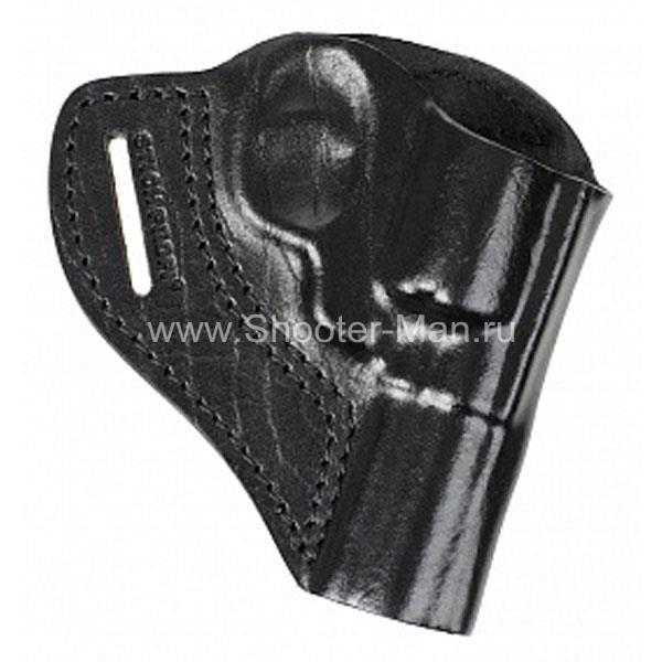 Кобура кожаная для револьвера Гроза Р-03 ( модель № 5 ) Стич Профи