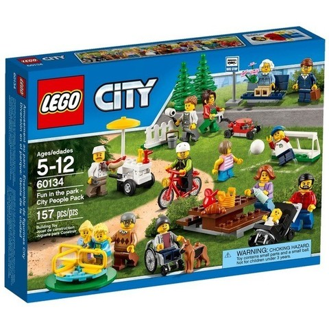 LEGO City: Праздник в парке 60134 — Fun in the Park — City People Pack — Лего Сити Город
