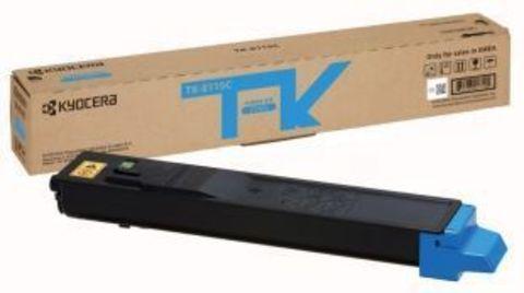Тонер-картридж Kyocera TK-8115C (голубой) для Kyocera M8124cidn, M8130cidn. Ресурс 6 000 стр.