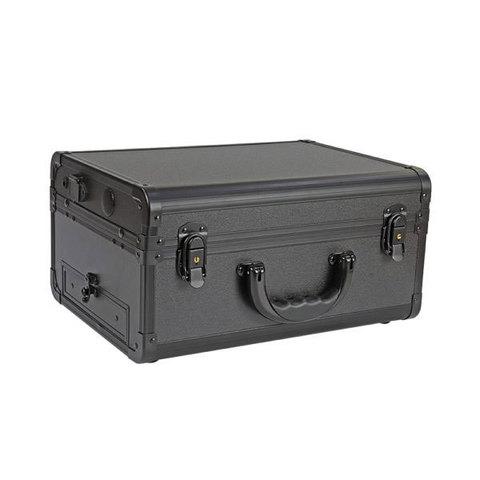 Бьюти кейс визажиста на колесиках (мобильная студия) LC022 Black