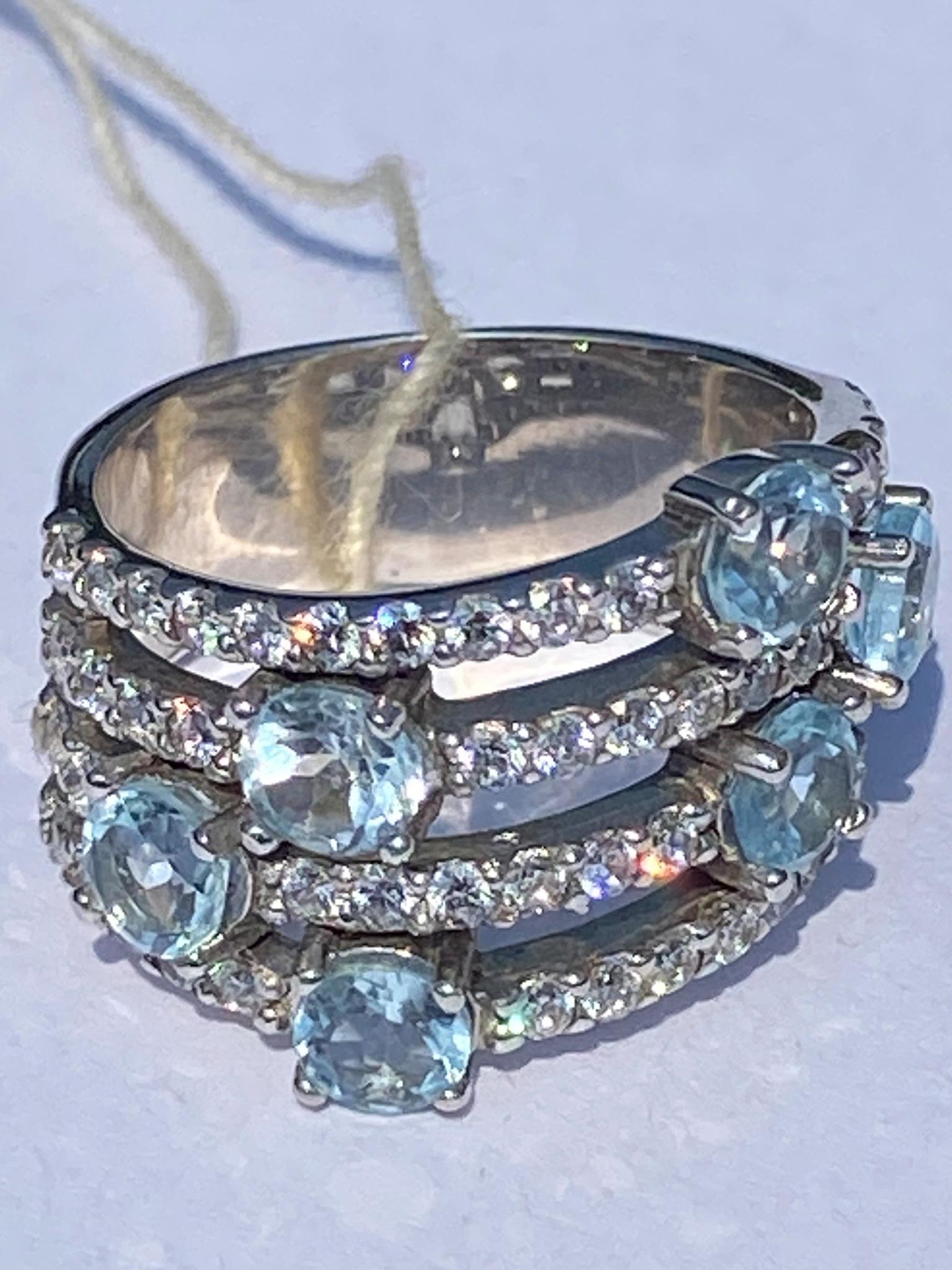 1100162-топаз (кольцо из серебра)