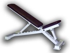 Скамья универсальная PROFI IM-054 с изменяющимся наклоном.
