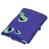 Фиолетовый пледик