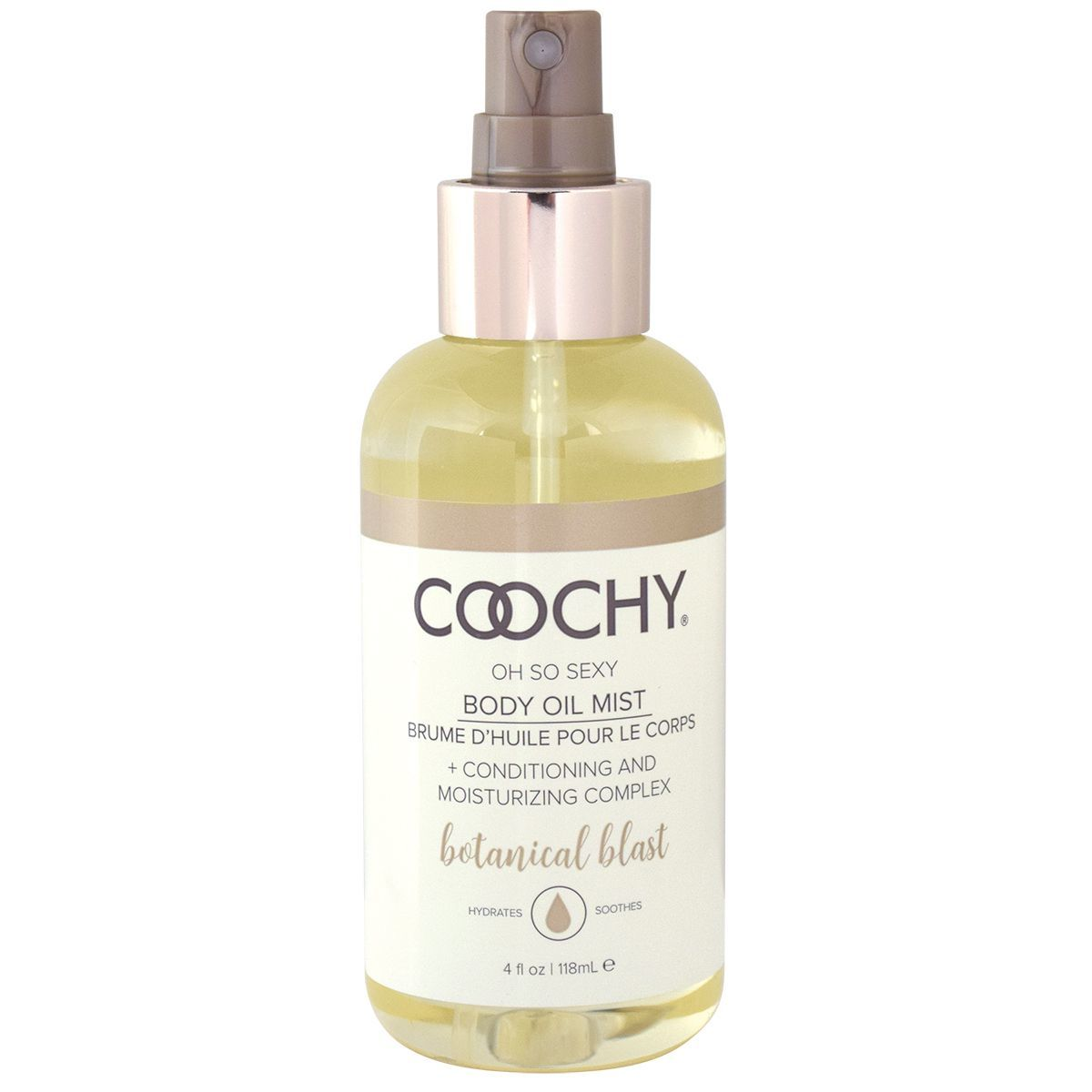 Средства по уходу за телом, косметика: Увлажняющее масло с феромонами COOCHY Botanical Mist - 118 мл.