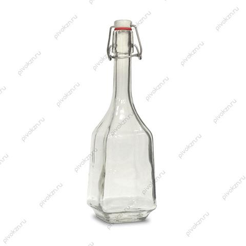 Бутылка 0,7 л «Дикий гусь» с бугельной крышкой