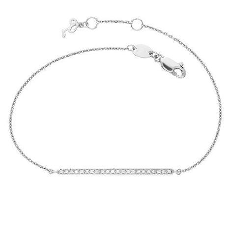 Браслет-палочка из серебра