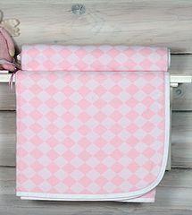 Плед детский 75х100 Luxberry Lux 3313 розовый