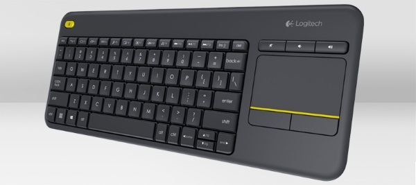 Logitech K400 plus black