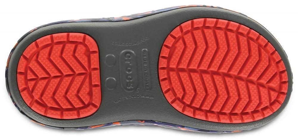 207722-43J - сапоги для мальчиков CrocsLodgePt Lights RoboRex