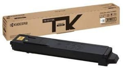 Тонер-картридж Kyocera TK-8115K (чёрный) для Kyocera M8124cidn, M8130cidn. Ресурс 12 000 стр.