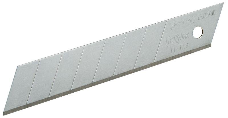Лезвия для ножа 18мм  5шт FatMax Stanley 0-11-718