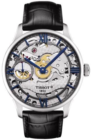 Купить Наручные часы Tissot Chemin Des Tourelles Squelette T099.405.16.418.00 по доступной цене