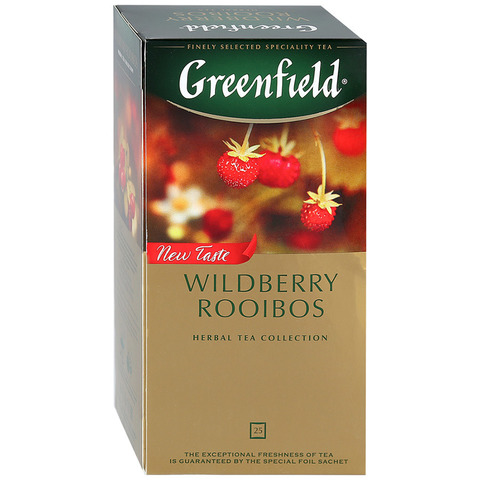 "Чай черный ""Greenfield"" Wildberry Rooibos 25*2г"