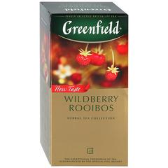 """Чай черный """"Greenfield"""" Wildberry Rooibos 25*2г"""